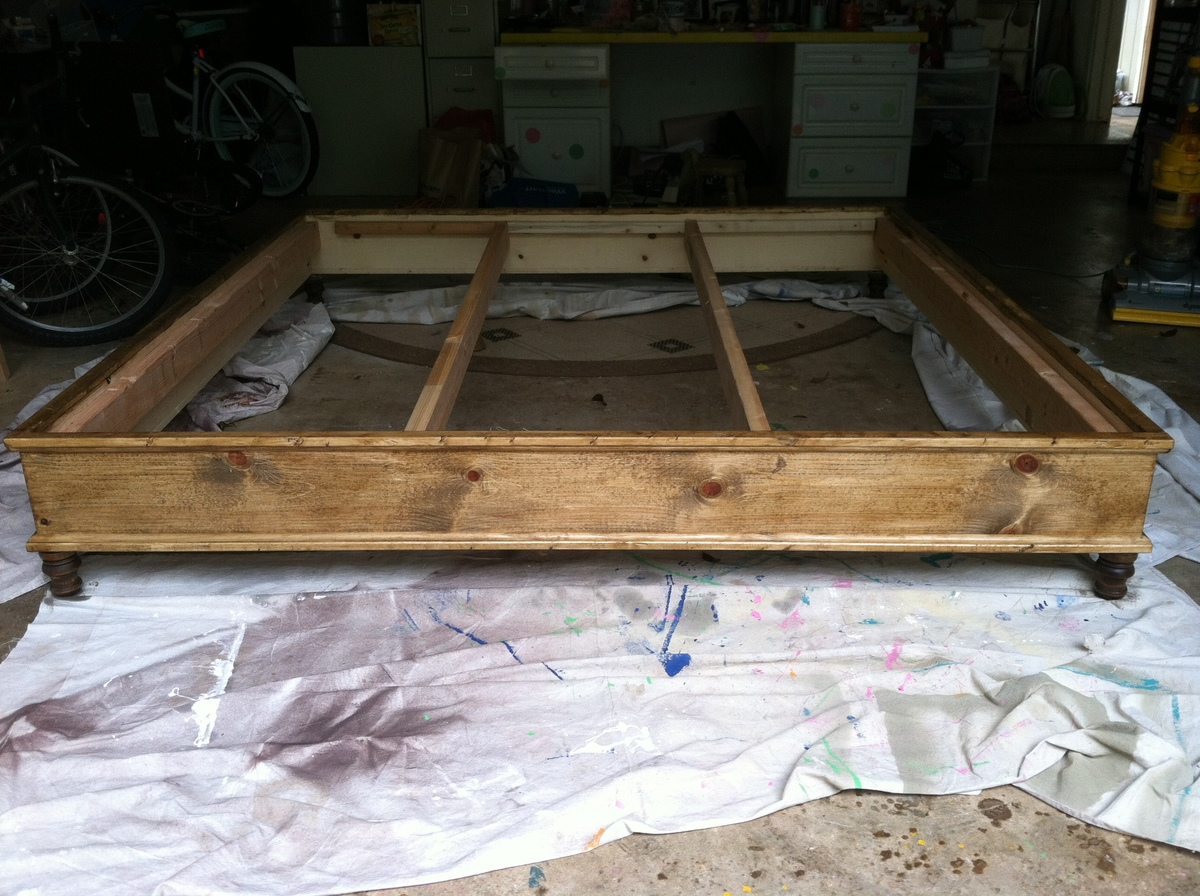 how to build platform bed king size | Quick Woodworking ...