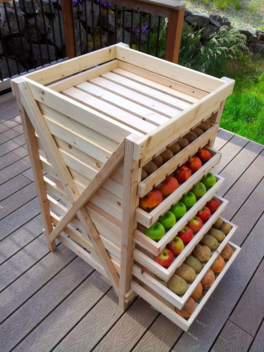 ... Food Storage Shelf | Free and Easy DIY Project and Furniture Plans