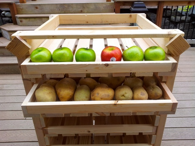 food storage shelves racks