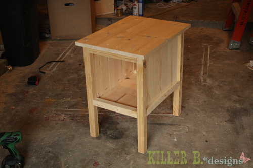 End Table Blueprints