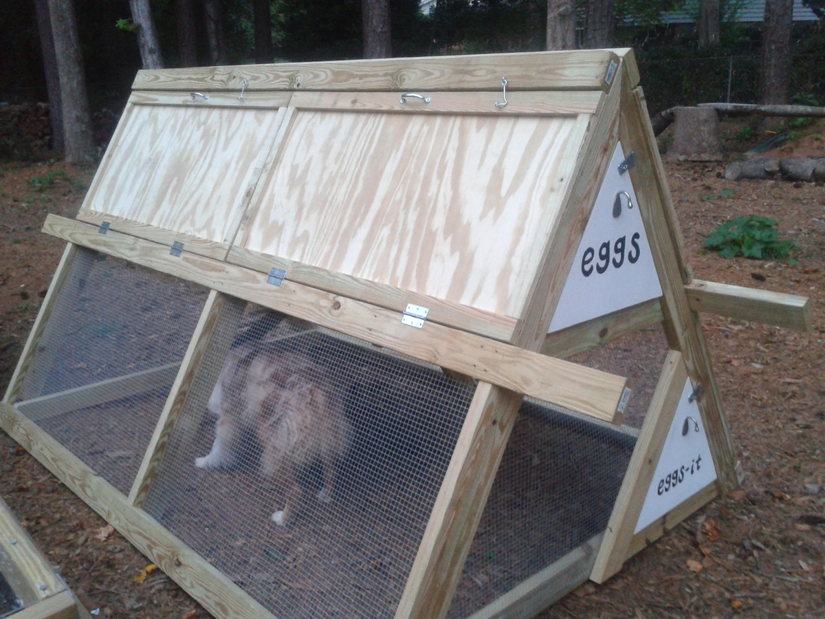 A Frame Chicken Coop With Modifications Ana White