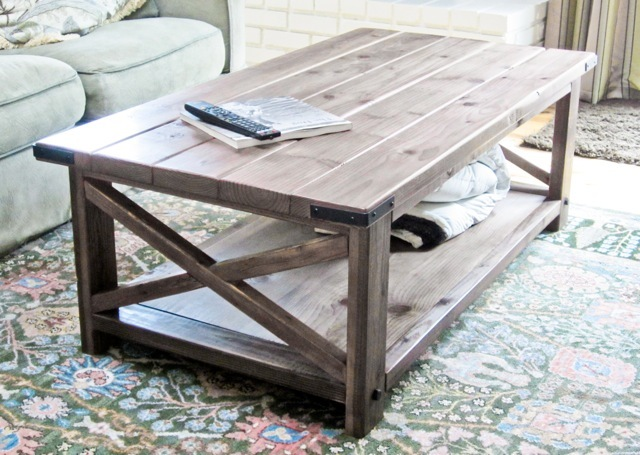 coffee table plans diy