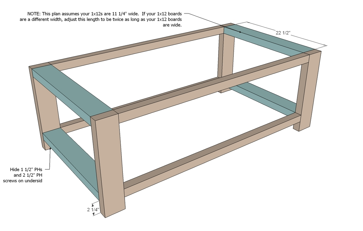 Ana White   Rustic X Coffee Table - DIY Projects