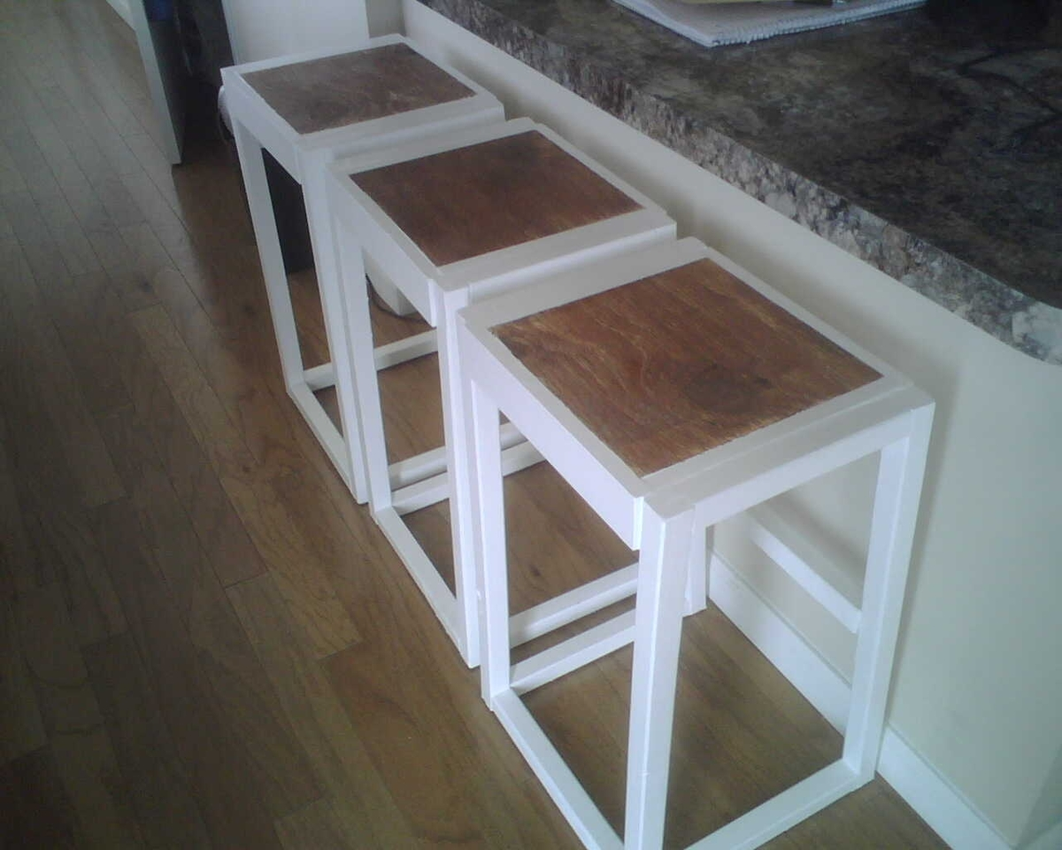 DIY Bar Stool Plans