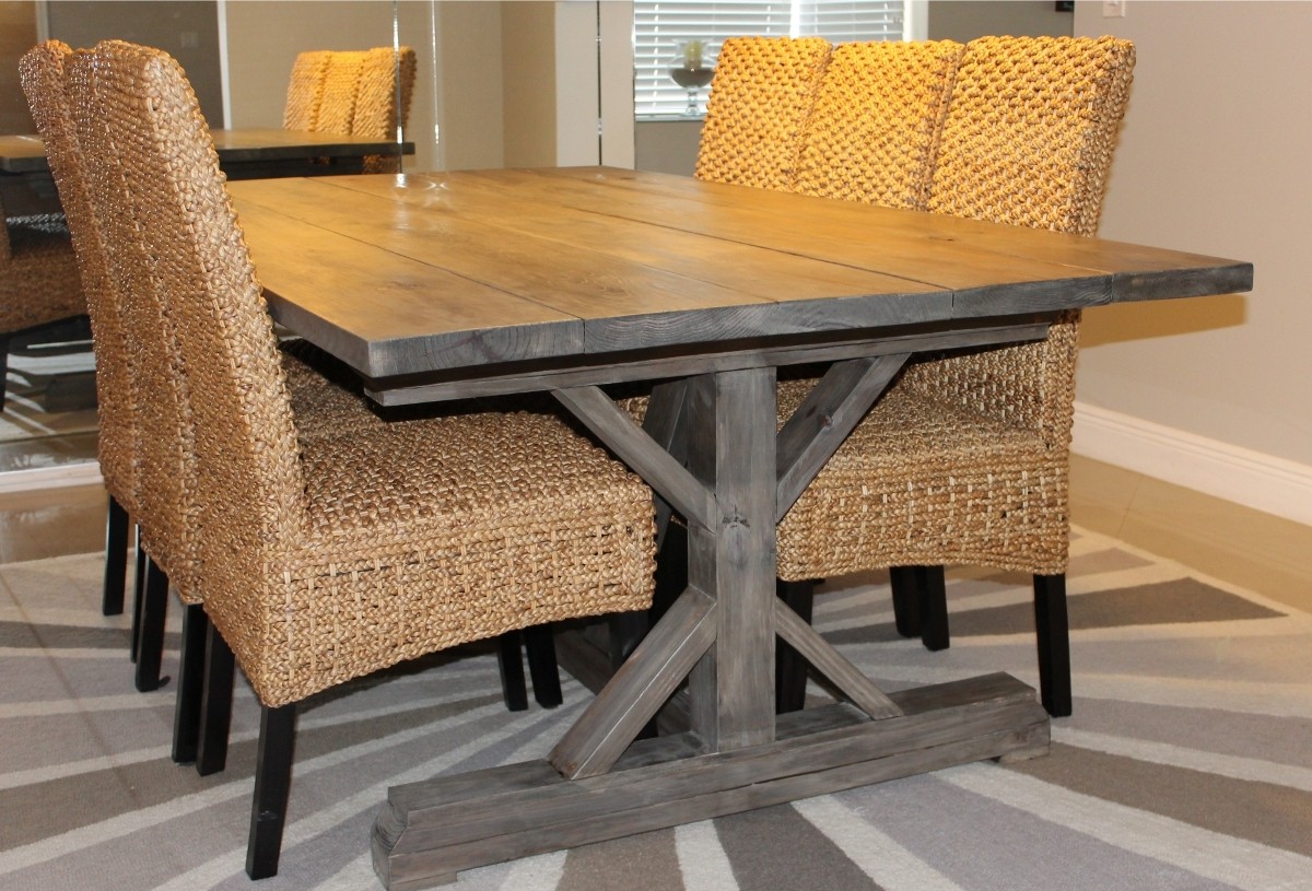 Very Best Ana White Fancy X Farmhouse Table Plans 1200 x 815 · 782 kB · jpeg