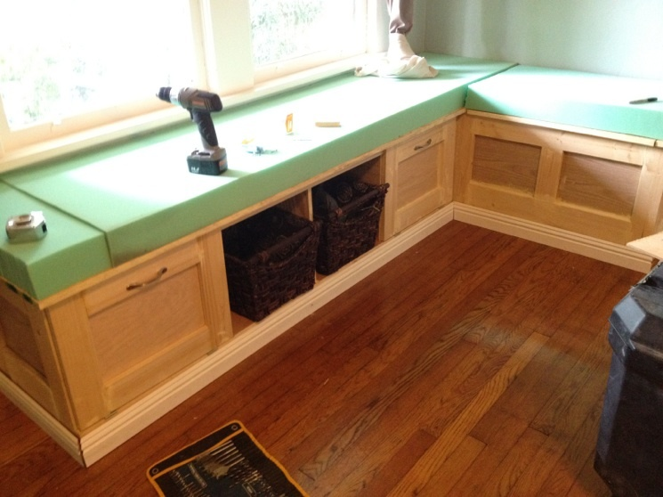 Home - Building a kitchen bench ...