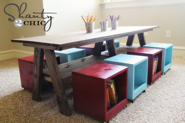 free kids furniture plans