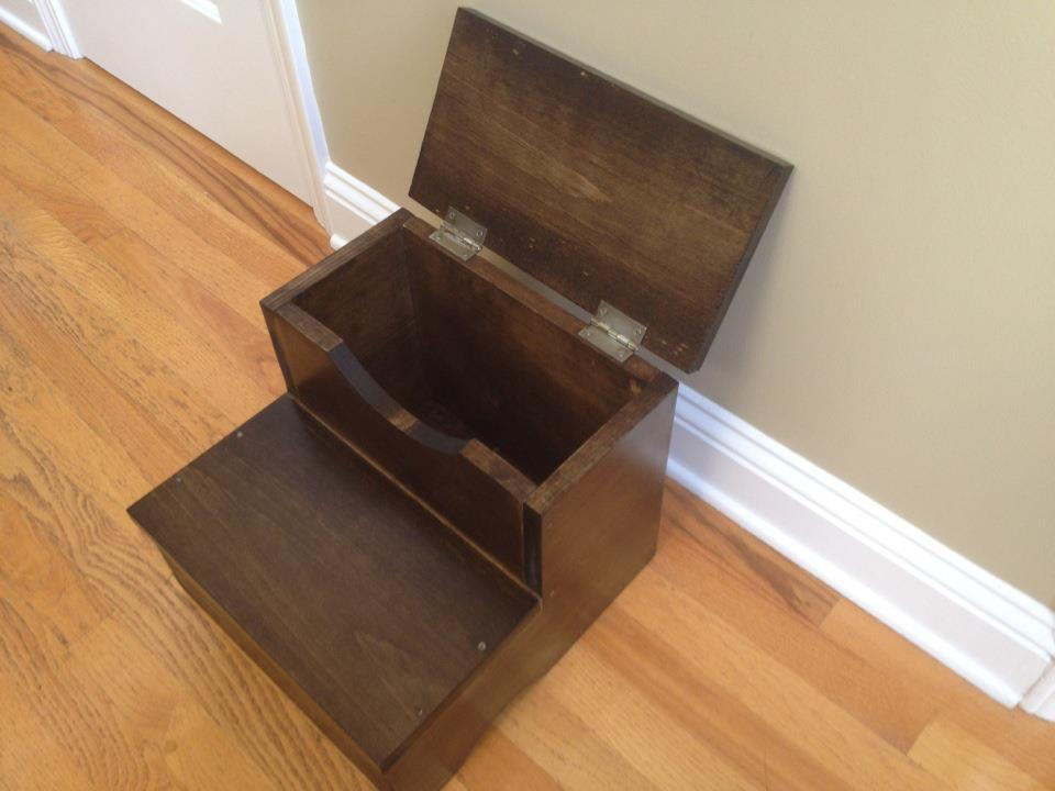 Ana White Storage Step Stool First Build Diy Projects