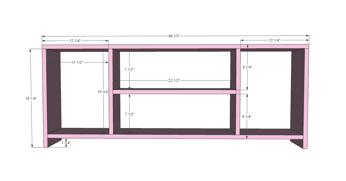 Entertainment Center Diy Plans