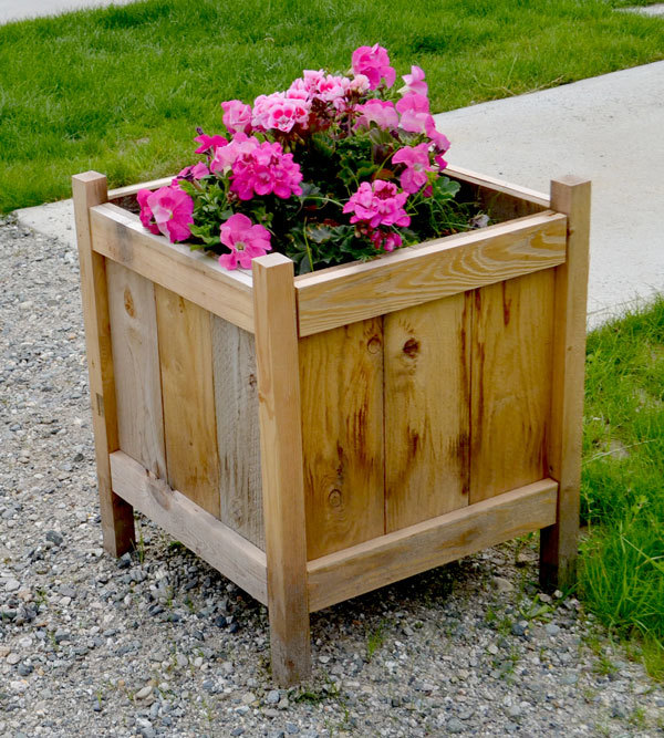 Free Planter Box Instructions