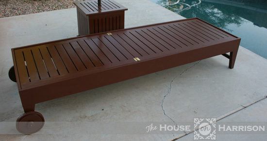 Ana white diy outdoor chaise lounge diy projects for Build a chaise lounge blueprints