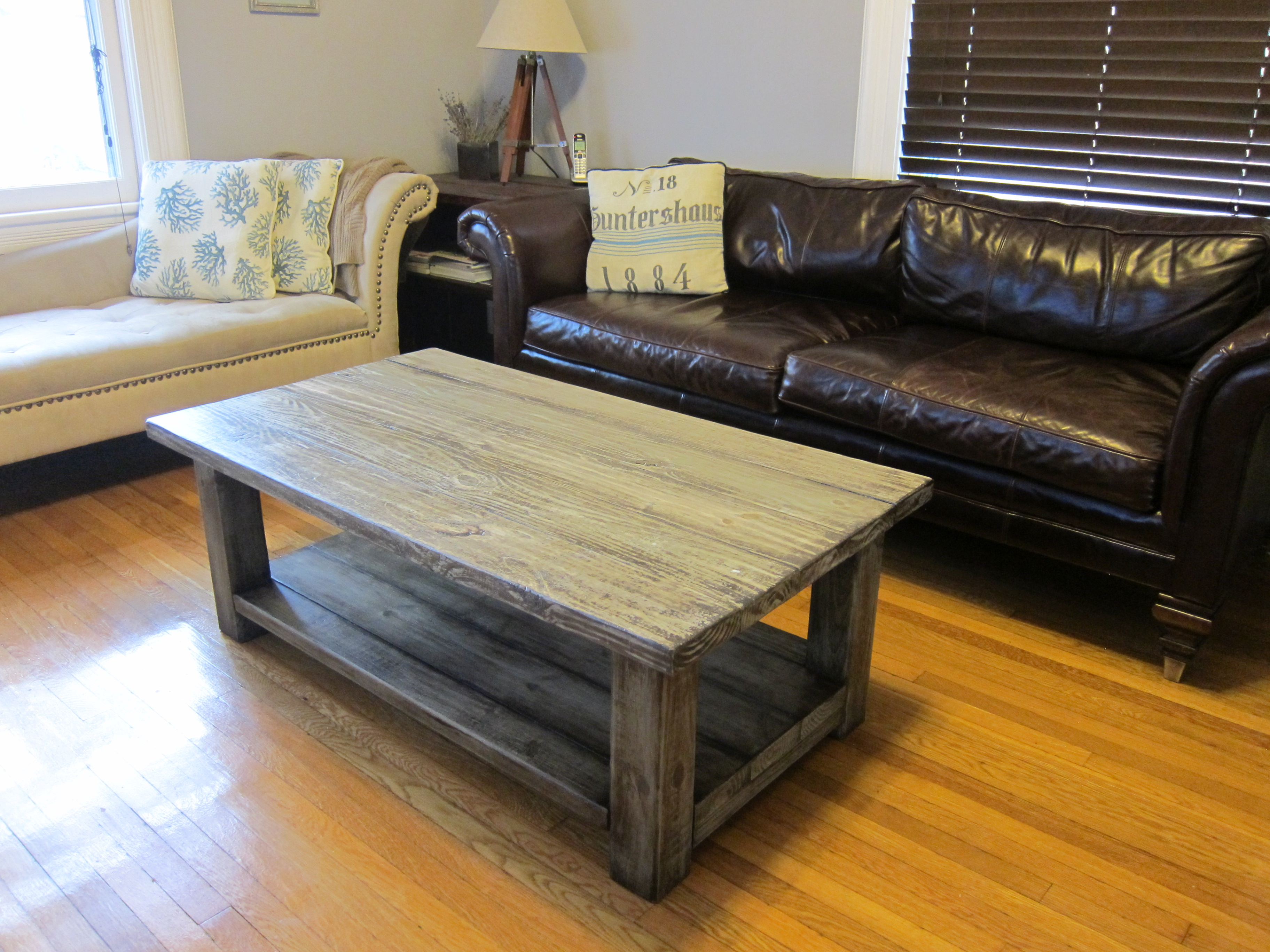 Woodwork Rustic Wood Coffee Table Plans PDF Plans on Coffee Table Plans  id=22093