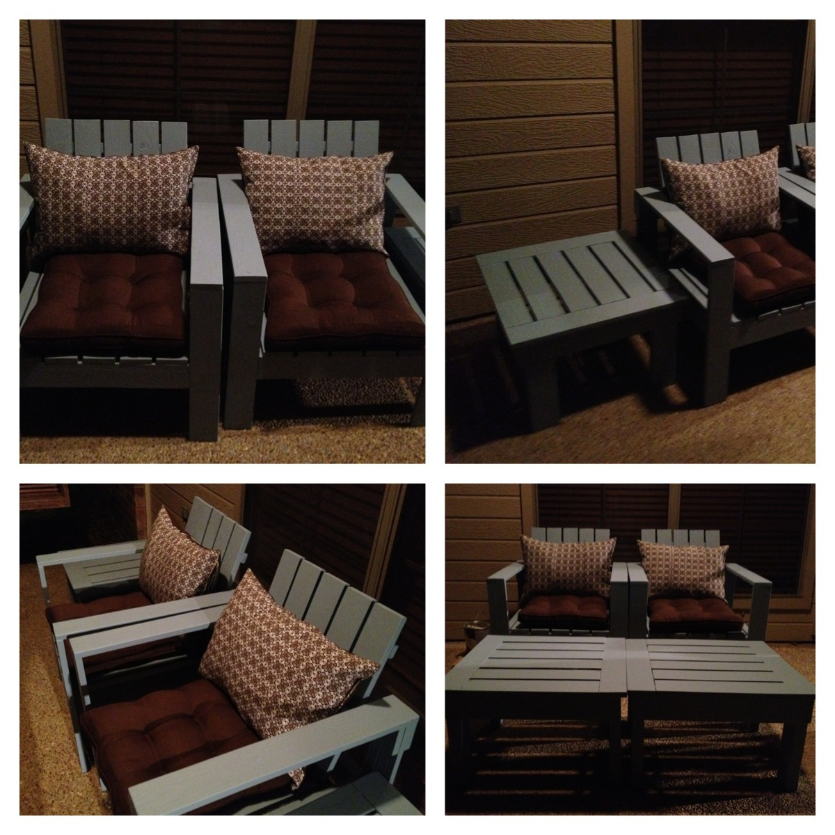 We wanted outdoor furniture but did not want to pay over $500. Very
