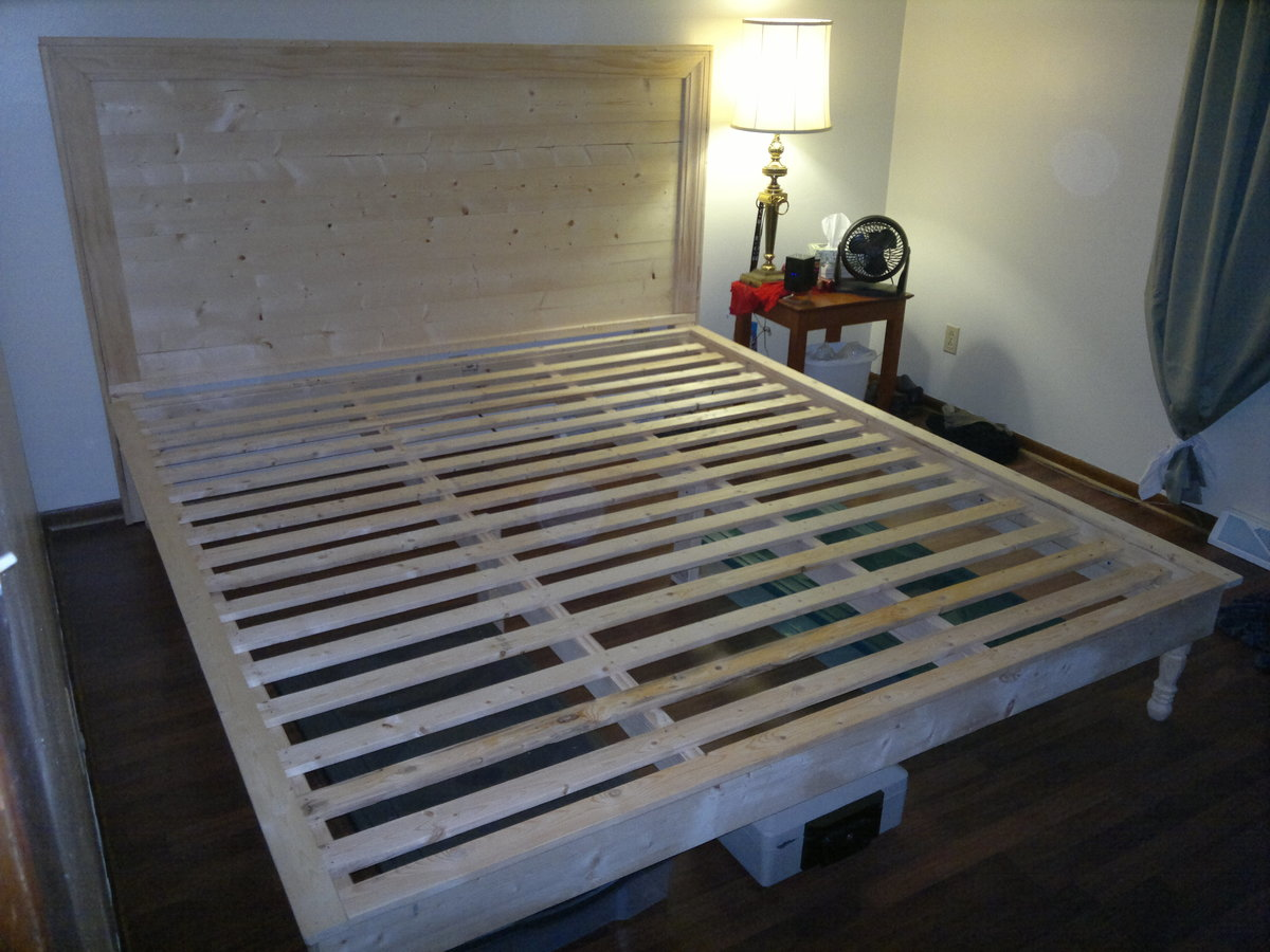woodworking plans king size beds