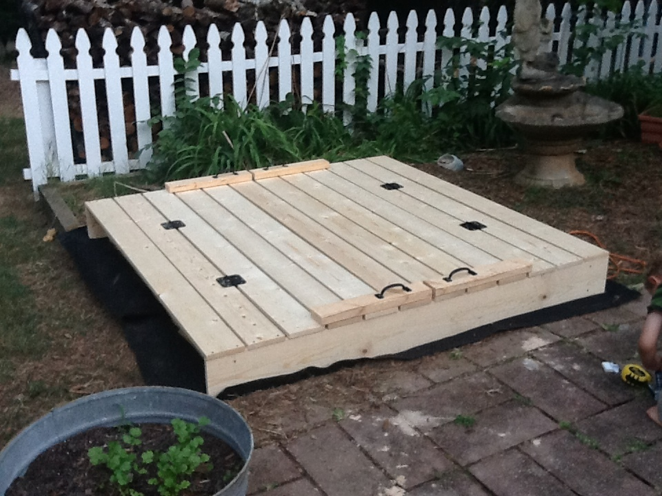 Ana White 6 Square Sandbox Diy Projects