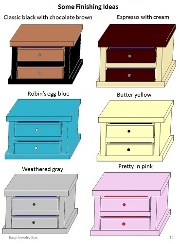 How To Build A Jewelry Box Simple