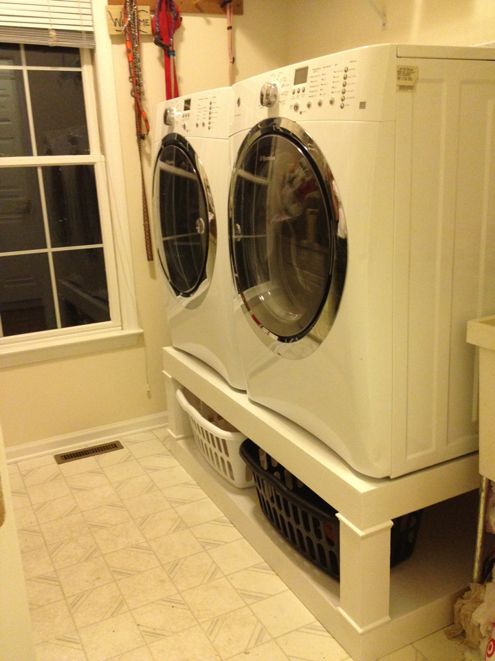 Ana White Washer And Dryer Pedistal Diy Projects