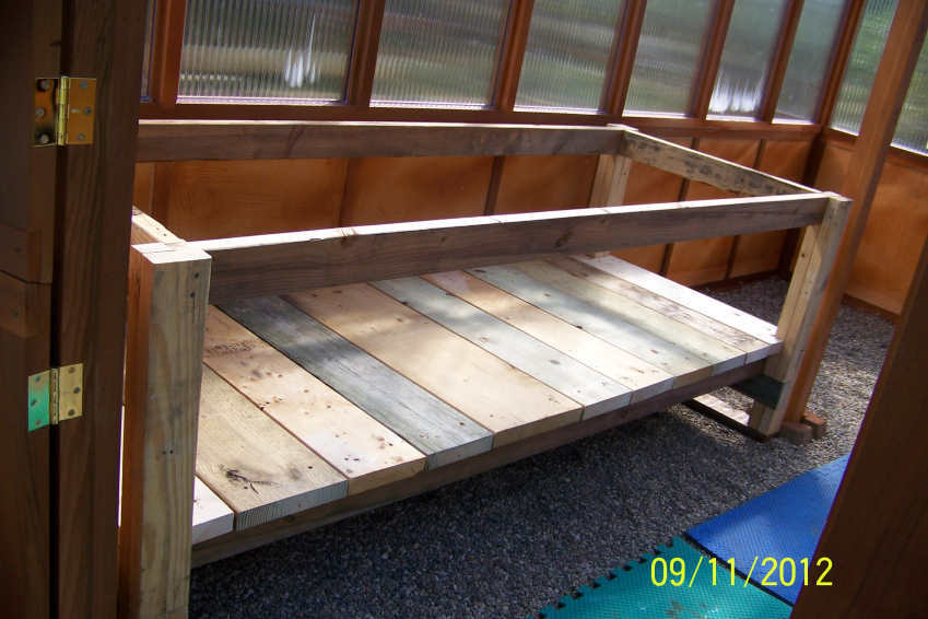 Ana White Heavy Bench For New Greenhouse Modified