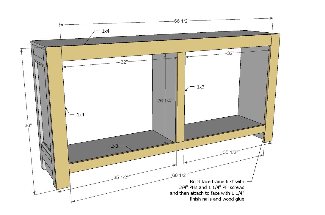 How To Build A Sideboard
