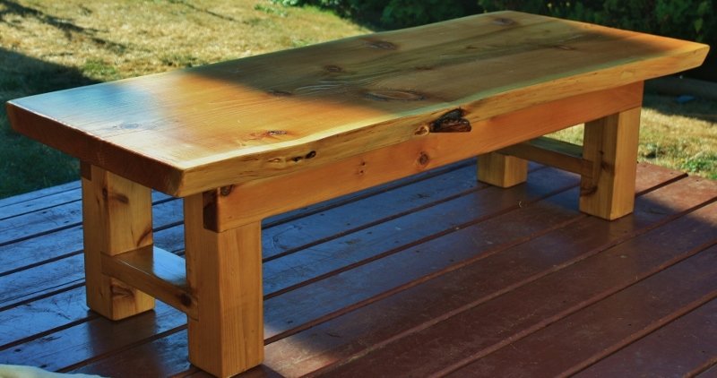 Ana White Red Cedar Zen Coffee Table Diy Projects