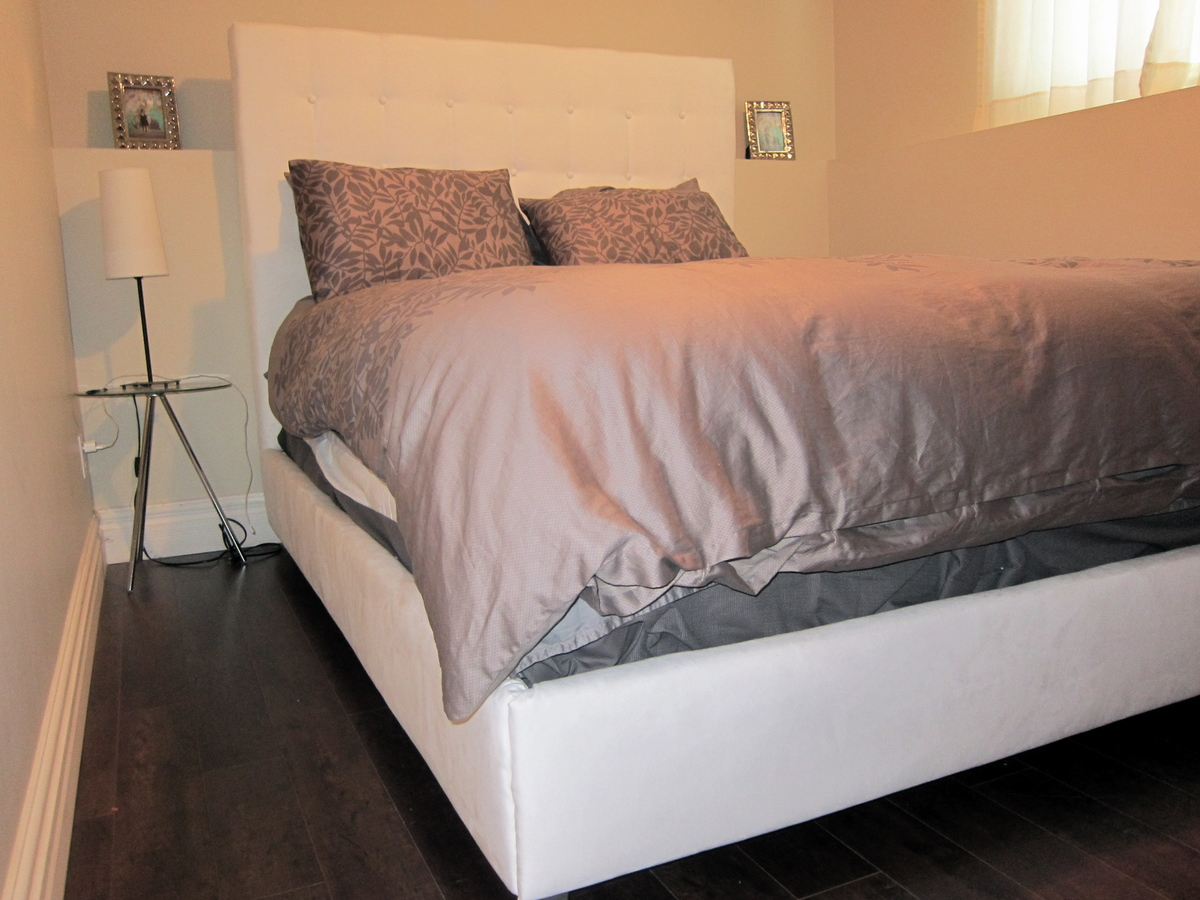 DIY Upholstered Bed | Do It Yourself Home Projects from Ana White