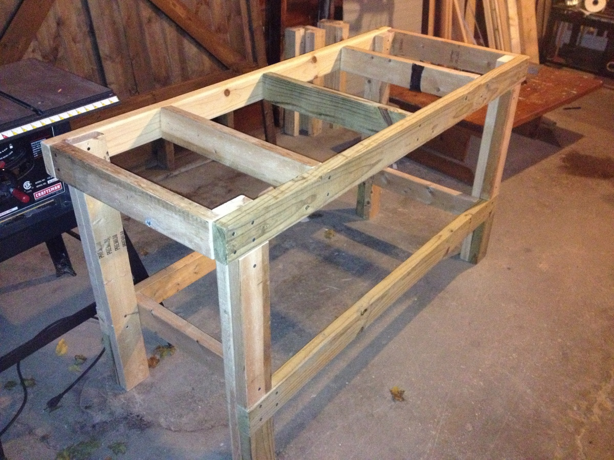 ... To Make A Wooden Workbench Plans DIY Free Download Simple Toy
