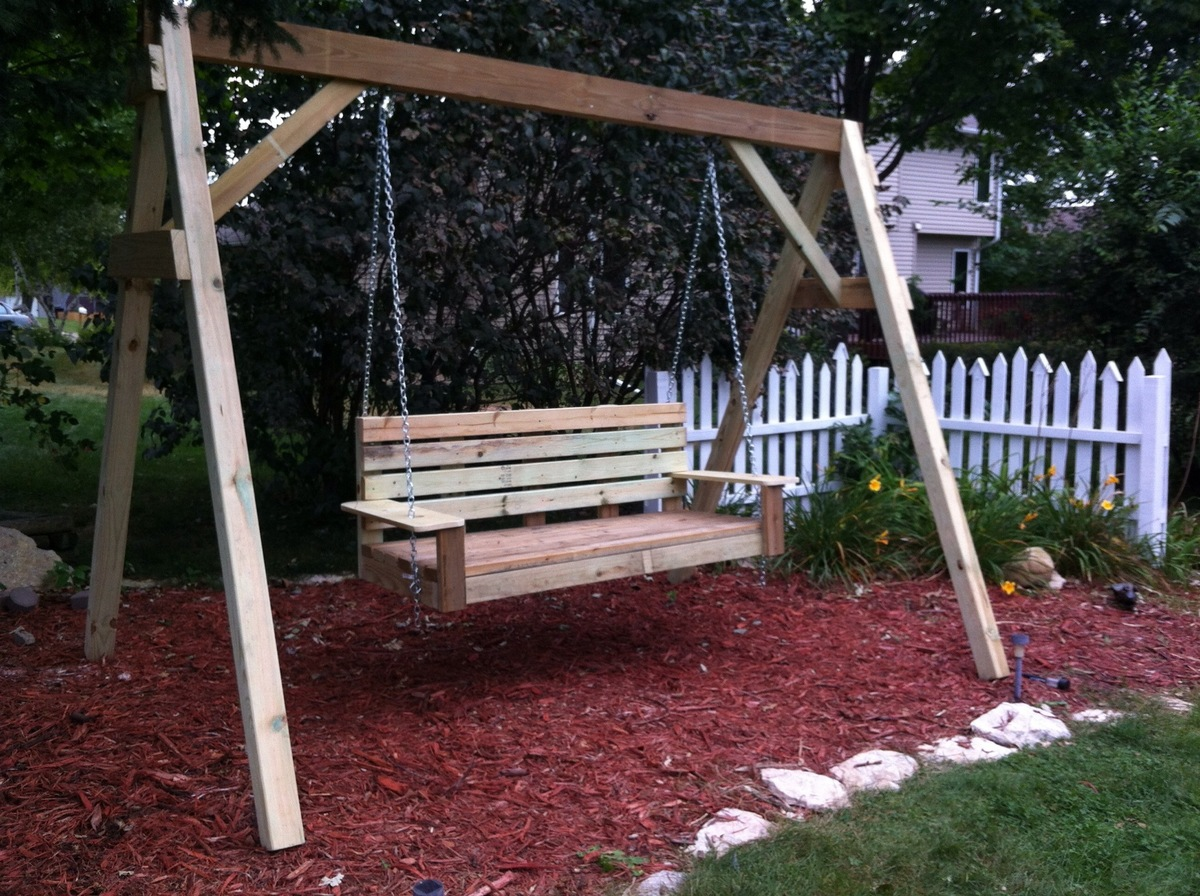 Build Diy How To A Frame Porch Swing Stand Pdf Plans Wooden Sharpening Wood Lathe Turning Tools Mikel901eg