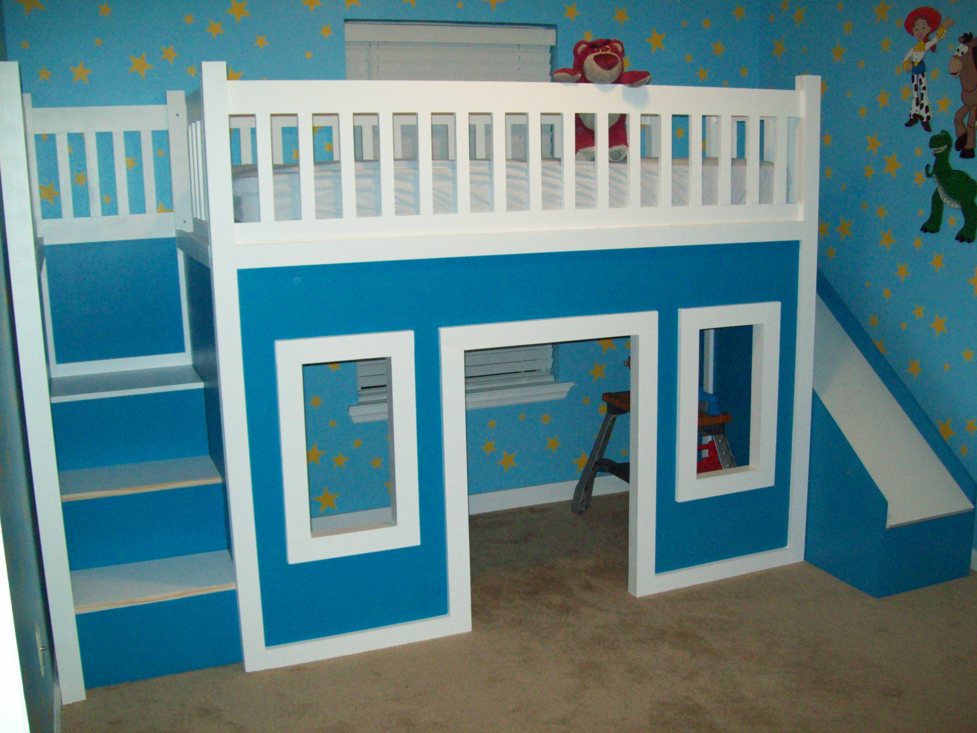 bunk bed playhouse plans