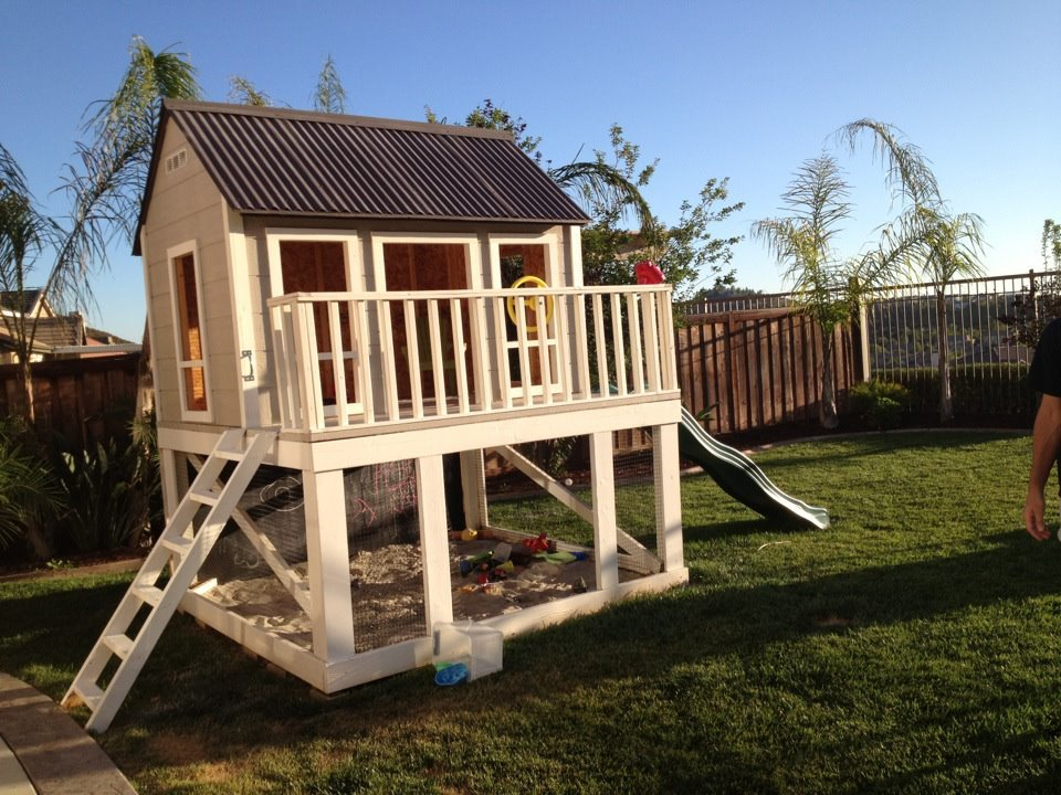 Ana white playhouse diy projects for House project online