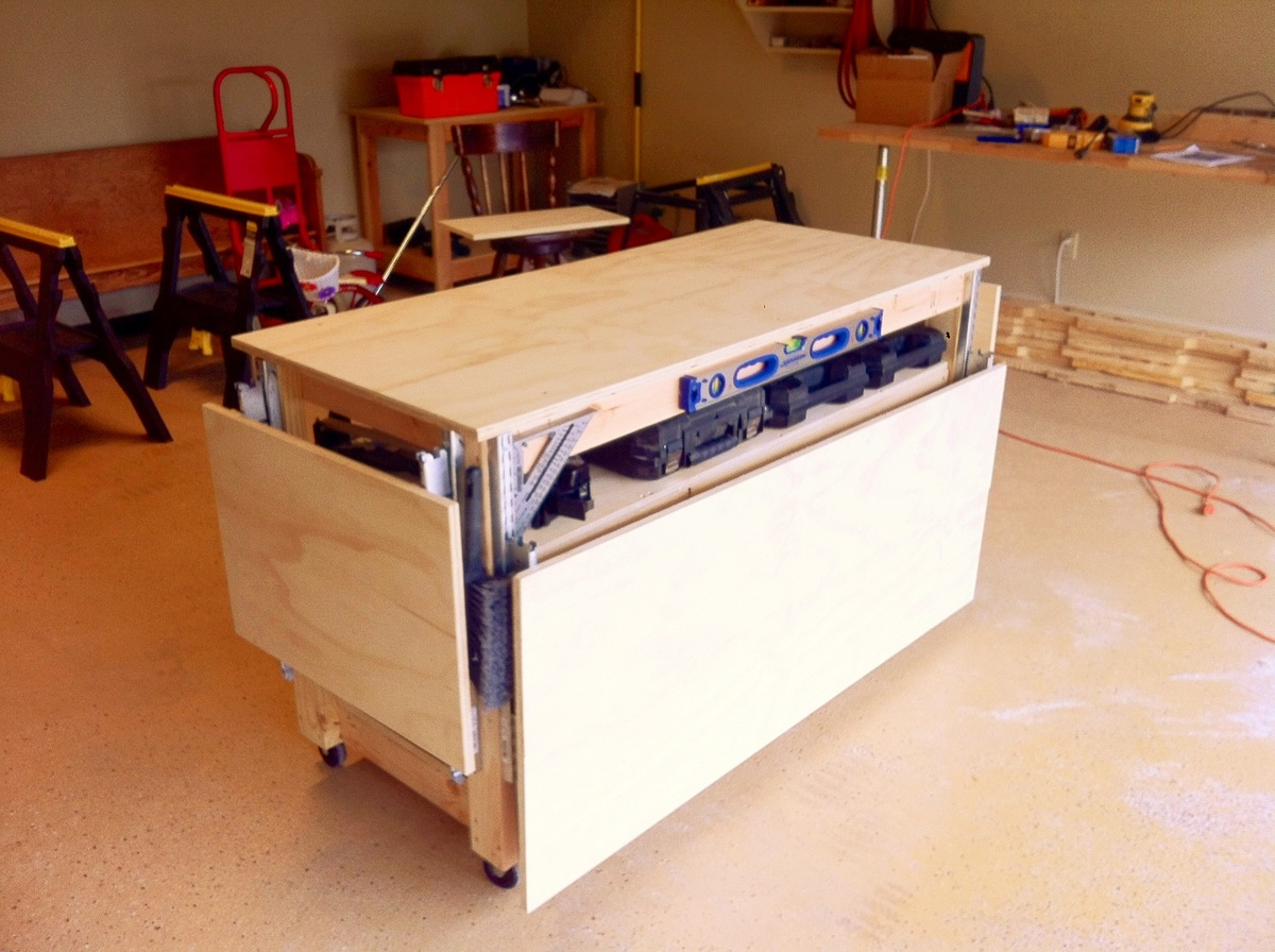 Ana White Do It All Mobile Workbench DIY Projects