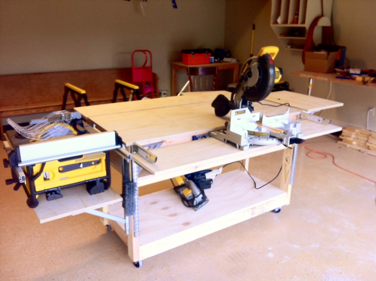 portable work bench ideas