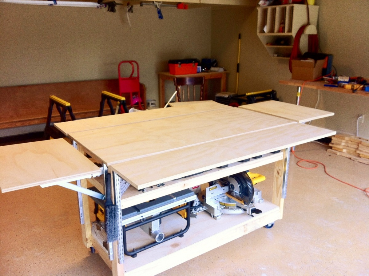 mobile workshop bench plans