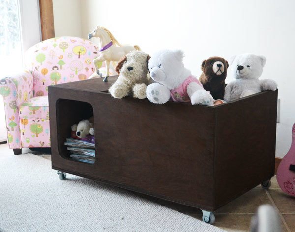 Free Easy Toy Box Plans