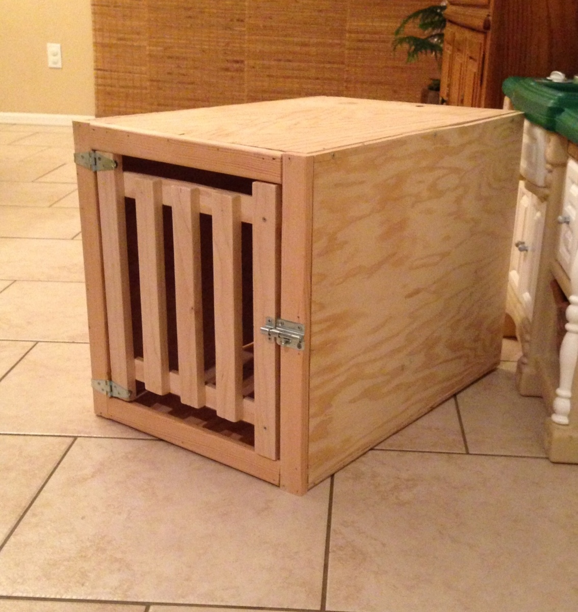 diy end table dog crate | Woodworking Project North Carolina