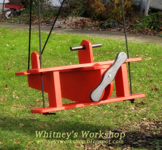 Wooden Child Swing Seat Plans