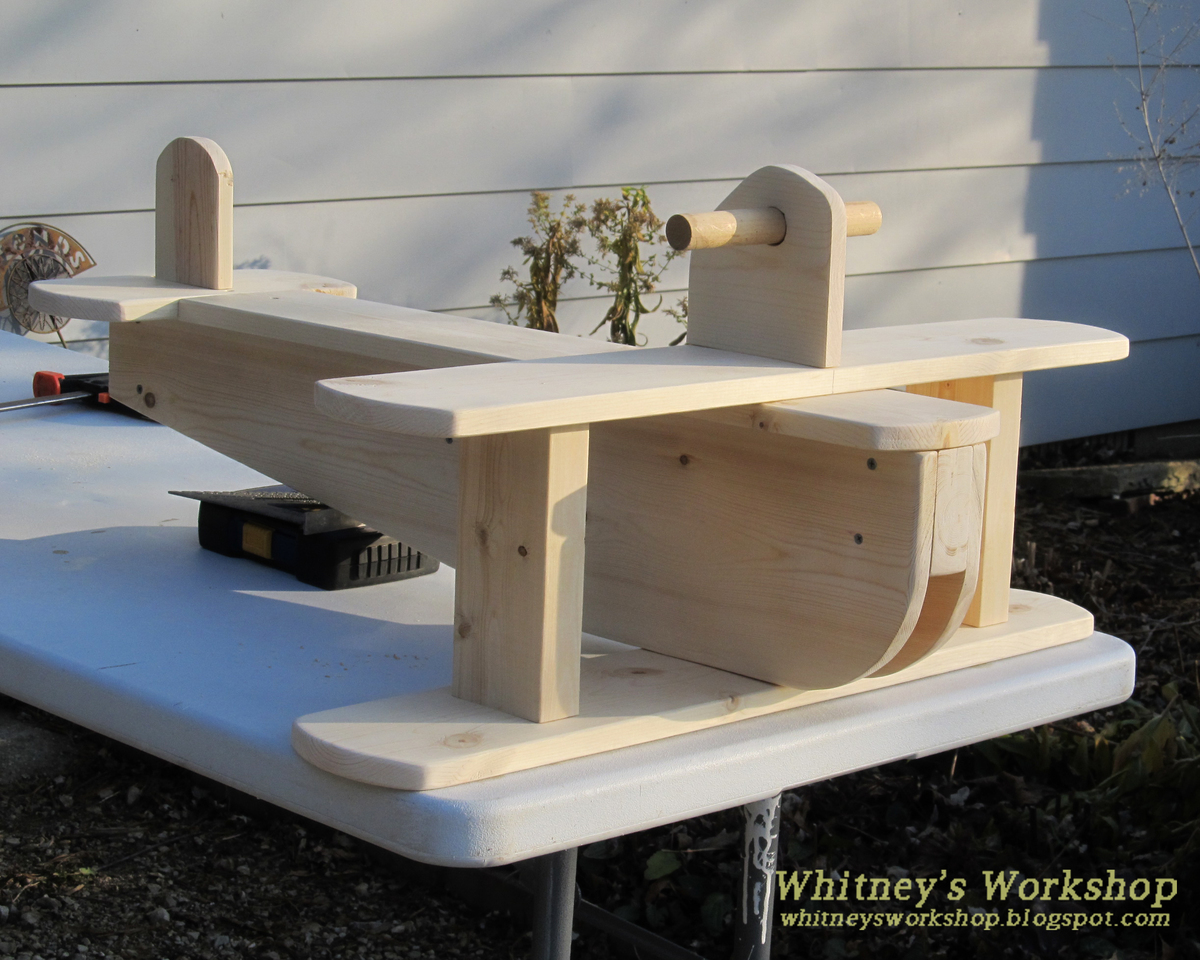 Wooden Airplane Swing Plans