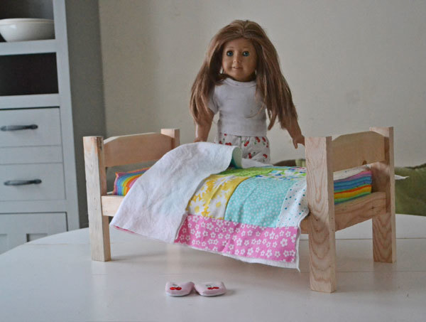 Free Wood Doll Bed Pattern