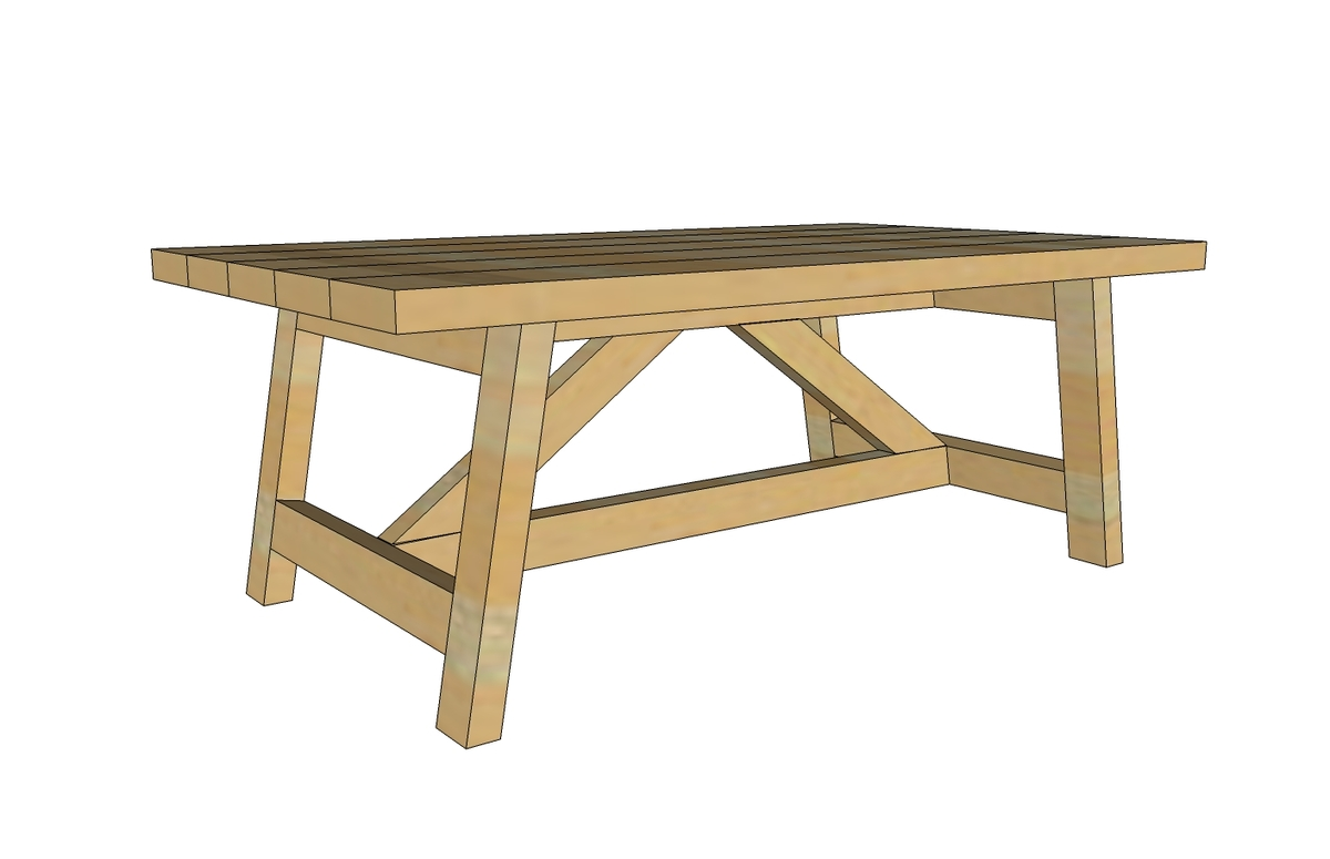 Easy woodworking plans coffee table quick woodworking for Simple table design
