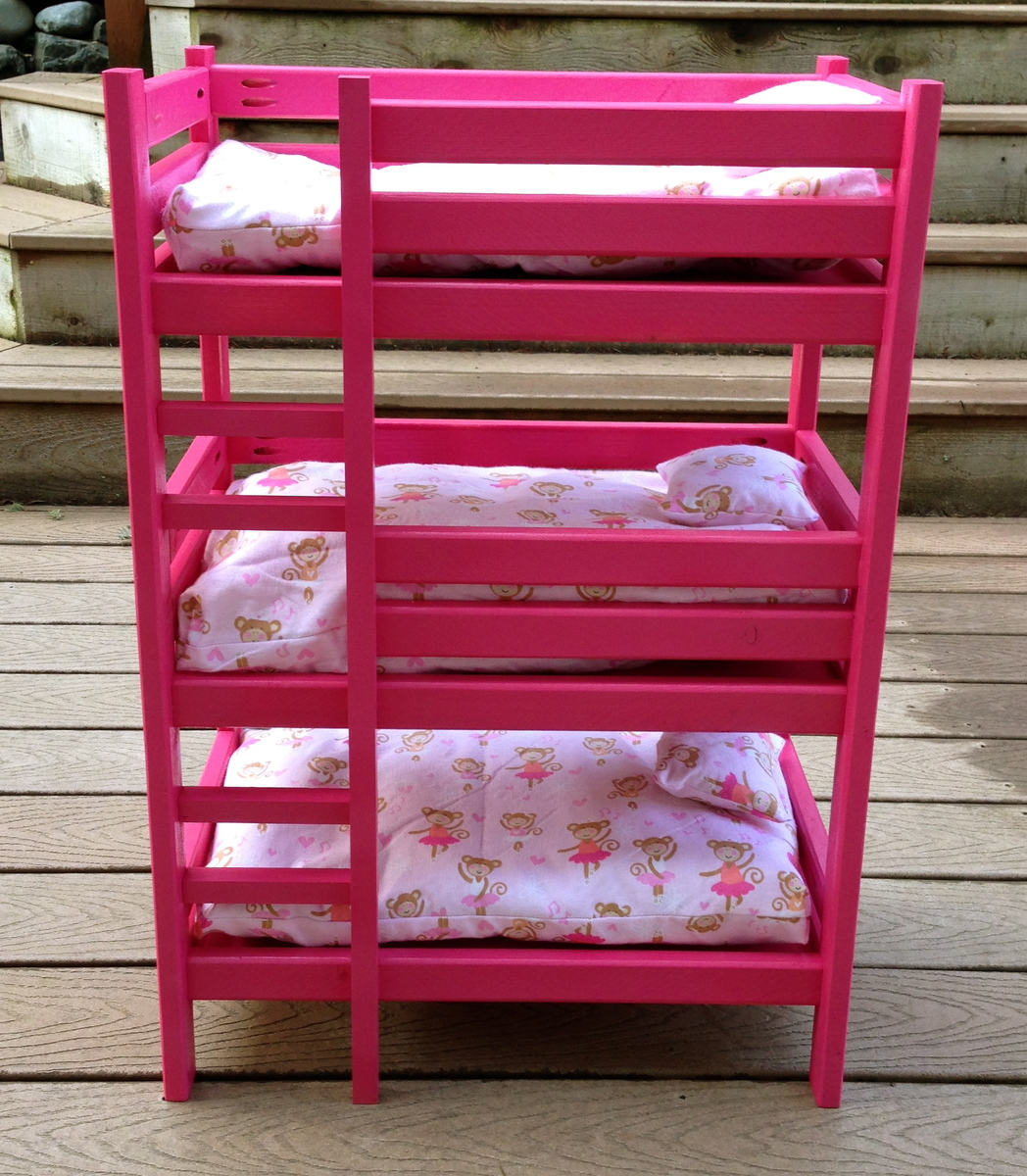American Girl Triple Bunk Bed Plans Free Download PDF DIY american ...