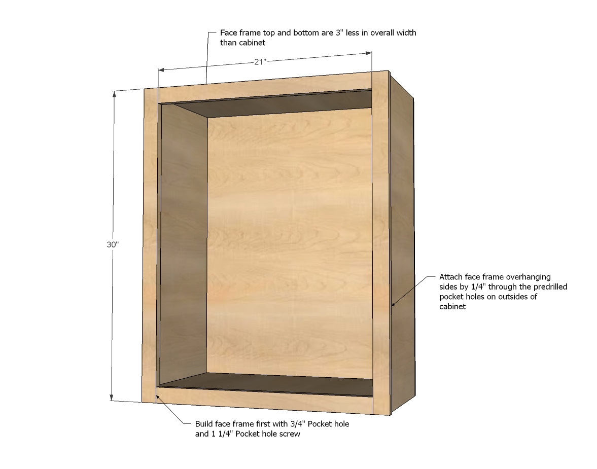 built in kitchen cabinets plans