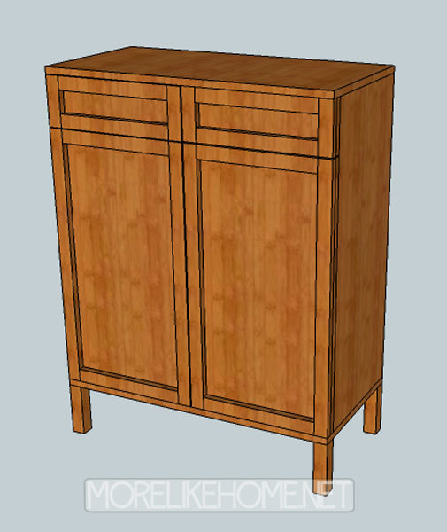 Ana white solo cabinet diy projects for Cabinets plans