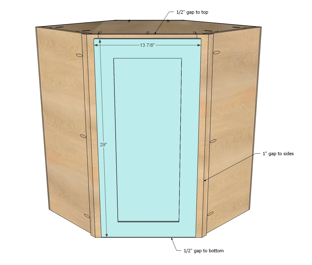 Pdf corner cabinet building plans plans free for Building kitchen cabinets