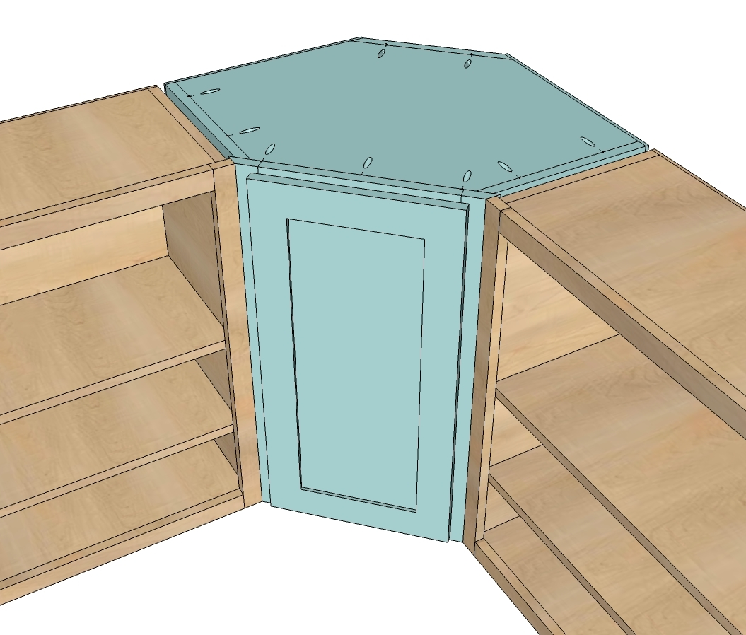 Plans For Corner Kitchen Cabinet