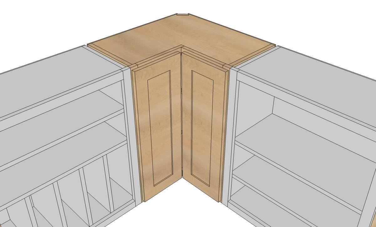 build corner kitchen cabinet plans
