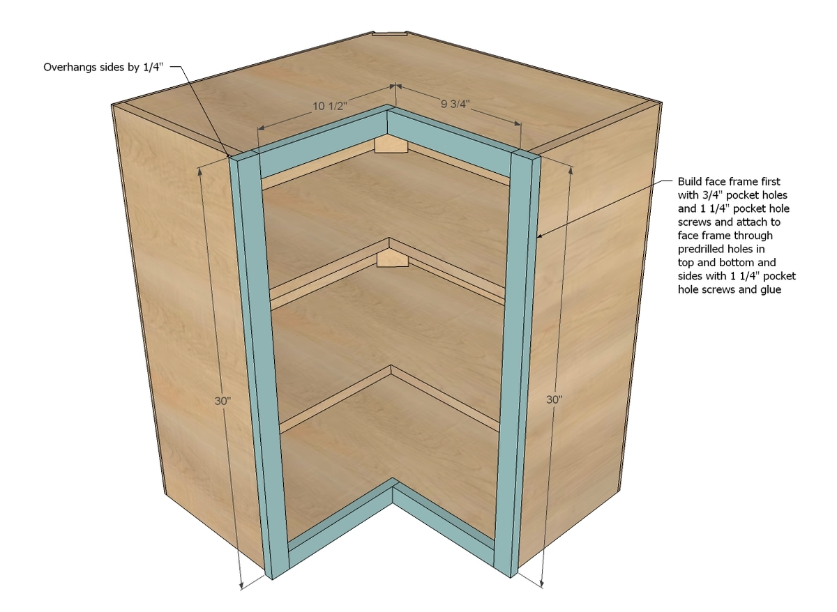Build Your Own Kitchen Pantry Storage Cabinet
