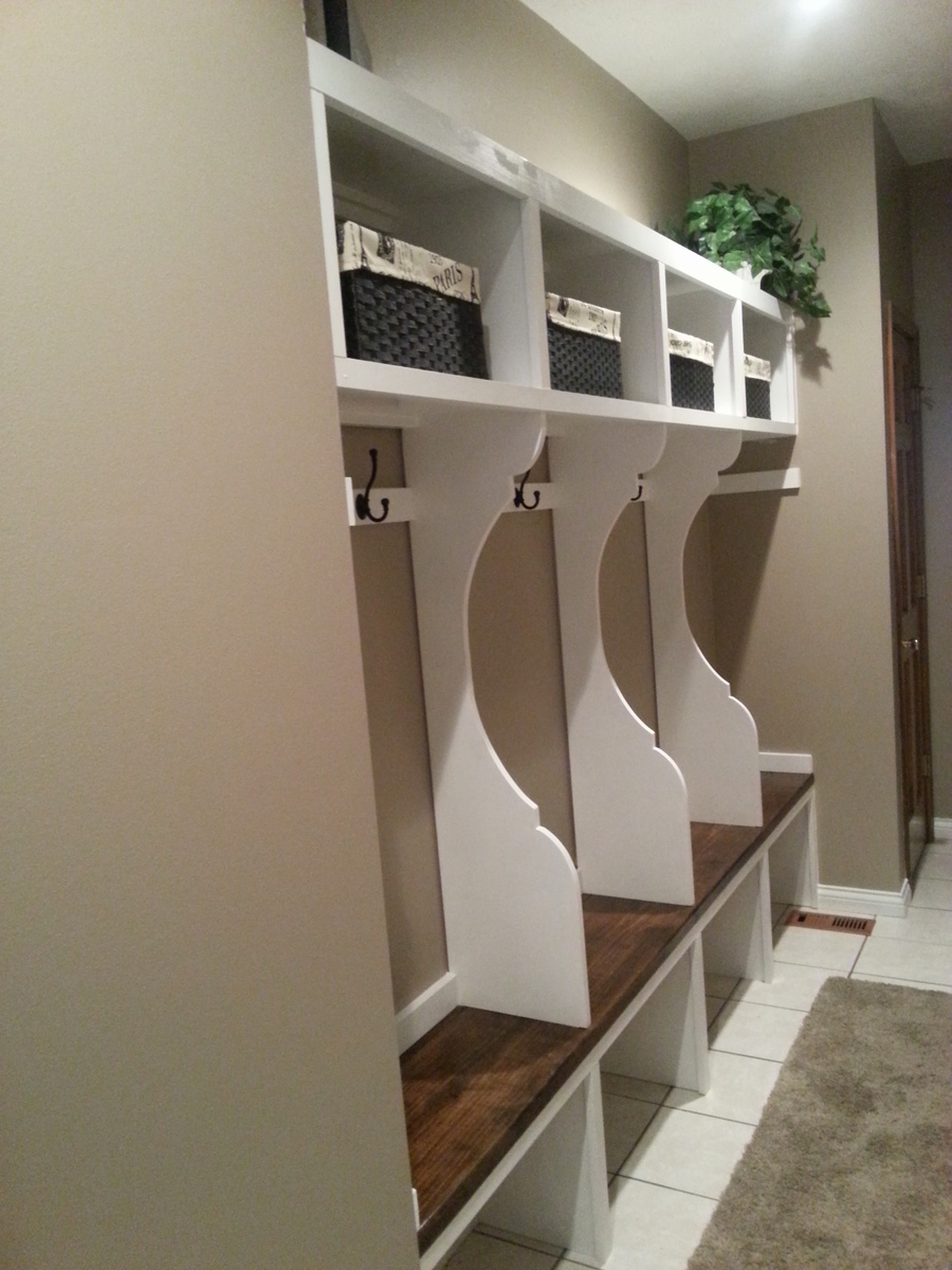 Mudroom Locker System | Do It Yourself Home Projects from Ana White