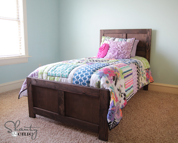 Twin Bed Building Plans Free