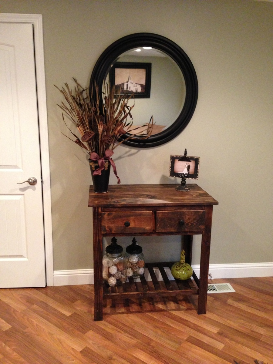 Ana White Entry Table Diy Projects