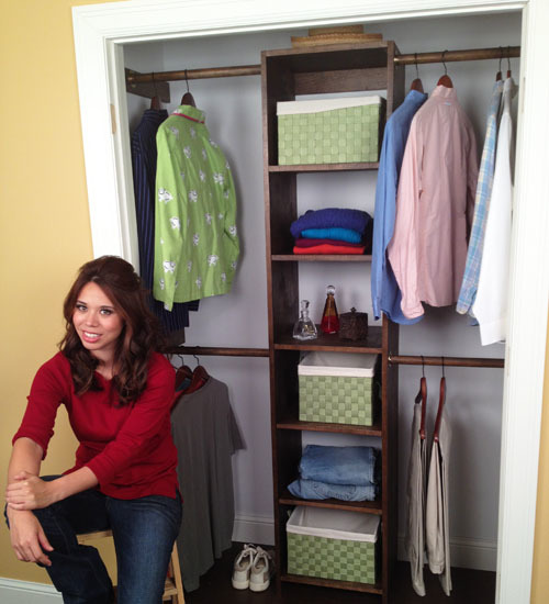 Build Your Own Closet Organizer Plans