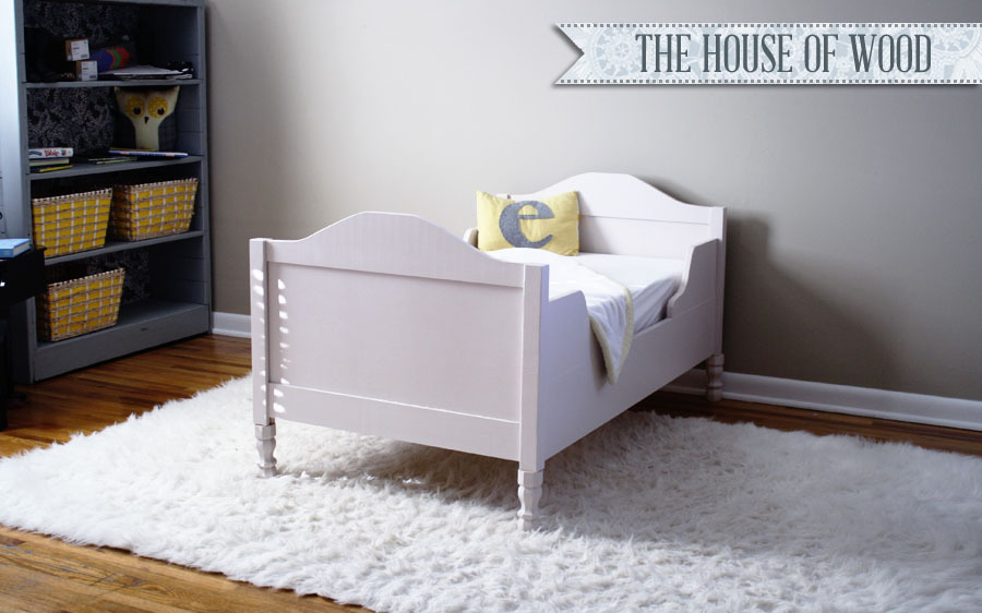 Build A Toddler Bed Plans
